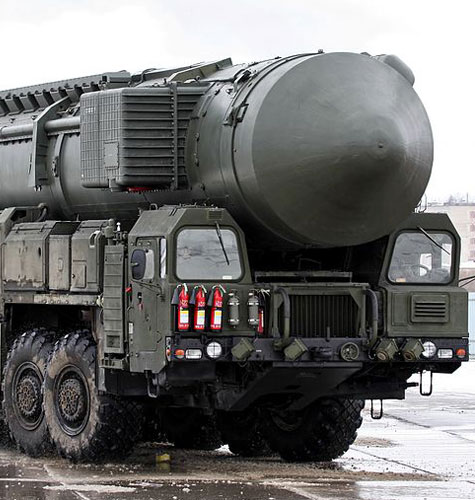 Russian SS-25 ICBM Road-Mobile Launcher