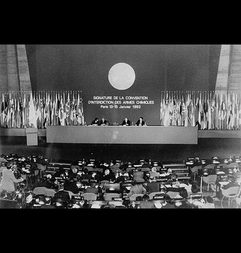 Signing of the Chemical Weapons Convention