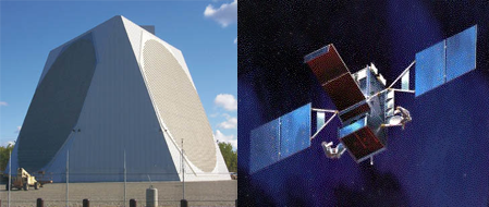 US Budget Radar and Satellite